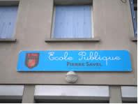 L'école publique Pierre Savel